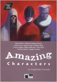 Amazing Characters. Book + CD