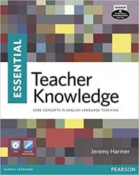 ESSENTIAL TEACHER KNOWLEDGE BOOK AND DVD