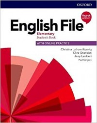 ENGLISH FILE 4TH ED ELEMENTARY SB WITH ONLINE PRACTICE