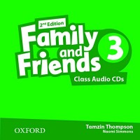 Family And Friends 3 Class Cd Second Ed