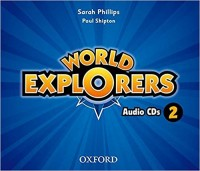 WORLD EXPLORERS 2 CLASS AUDIO CD´S