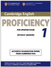 Cambridge Cpe 1 Wo Key
