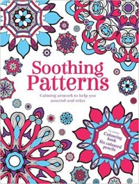 Mandalas Antiestrés Soothing Patterns Lata Decorativa Con Libro Para Colorear y Lápices De Colores