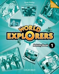 WORLD EXPLORERS 1 WB WITH ONLINE PRACTICE