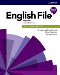ENGLISH FILE 4TH ED BEGINNERS SB WITH ONLINE PRACTICE