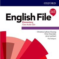 ENGLISH FILE 4TH ED ELEMENTARY CLASS CD