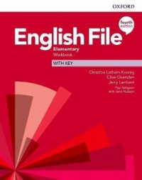 ENGLISH FILE 4TH ED ELEMENTARY WB WITH KEY