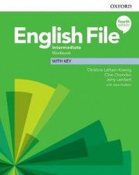ENGLISH FILE 4TH ED INTERMEDIATE WB WITH KEY