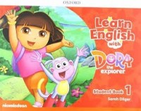 LEARN ENGLISH WITH DORA THE EXPLORER 1 - STUDENT BOOK