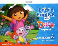 LEARN ENGLISH WITH DORA THE EXPLORER 2 BOOK