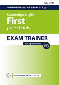 FIRST FOR SCHOOLS EXAM TRAINER STUDENT´S BOOK PACK WITH KEY