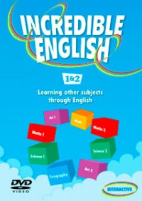 Incredible English 1 & 2 Dvd Interactive