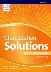 SOLUTIONS UPPER INT SB THIRD EDITION WITH ONLINE PRACTICE