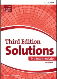 SOLUTIONS PRE INTERMEDIATE WORKBOOK 3 RD EDITION