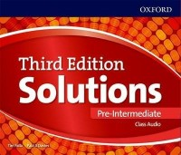 SOLUTIONS PRE INT 3 RD EDITION CLASS AUDIO CD´S