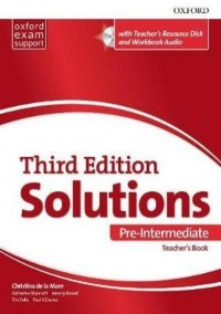 SOLUTIONS PRE INTERMEDIATE TEACHER´S BOOK 3 RD EDITION