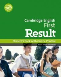 CAMBRIDGE ENGLISH FIRST RESULT SB WITH ONLINE PRAC