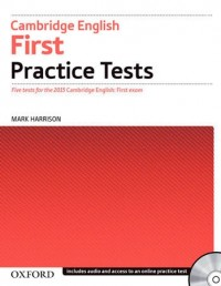 Cambridge English 2015 First Practice Tests Wo Key