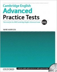 Cambridge English Advanced Practice Test With Key