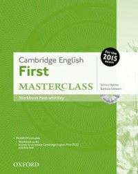 Cambridge English First Masterclass Wb Pack 2015