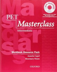 Pet Masterclass Wk Resource Pack Wo/Key