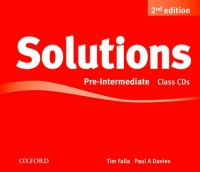 Solutions Pre Intermediate Second Ed. Cd