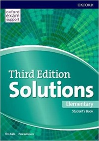 SOLUTIONS ELEMENTARY SB THIRD EDITION  ONLINE PRACTICE
