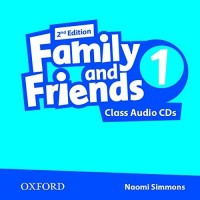Family And Friends 1 Class Cd Second Ed