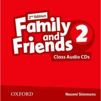 Family And Friends 2 Class Cd Second Ed