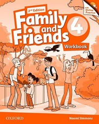 Family And Friends 4 Wb W/Online Practice - 2Nd Edition