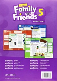 Family And Friend 5 Writing Posters  2Nd Edition