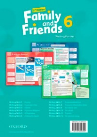 Family And Friend 6Writing Posters 2Nd Edition