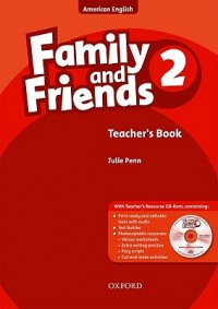 American Family & Friends 2 Tch & Cd-Rom