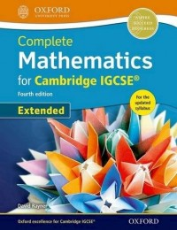 EXTENDED MATHEMATICS FOR CAMBRIDGE IGCSE - 4TH EDITION