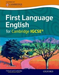First Language English For Cambridge Igcse