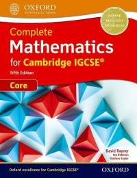 COMPLETE MATHEMATICS FOR CAMBRIDGE IGCSE 5TH EDITION