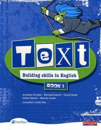 Text Building Skills In English Book 1