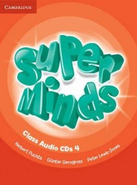 Super Minds 4 Class Audio Cd
