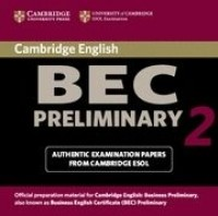 Practice Tests Bec Preliminary 2 Cd