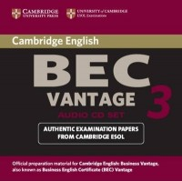 Practice Tests Bec Vantage 3 Cd