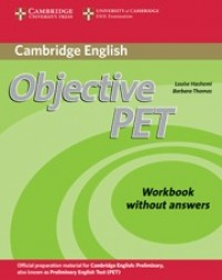 Objective Pet Second Edition Wb Wo Key