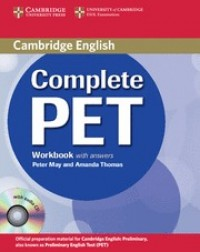 Cambridge Complete Pet Wb With Answers