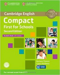 Cambridge Compact First For Schools 2 Ed. -Sb- W/Answers
