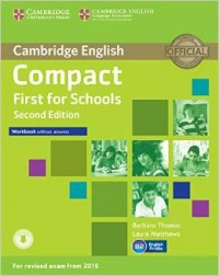Compact First For Schools Second Edition Wb Wo Key