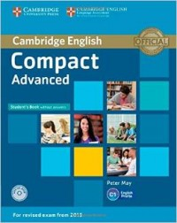 Compact Advanced Second Ed  Sb Wo Answers