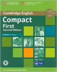 Compact First Workbook With Key Second Edition