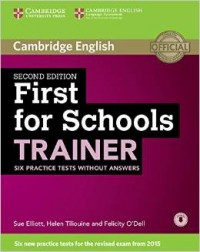 First For Schools Trainer Sb 2 Ed Wo Key