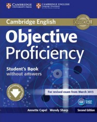 Objective Proficiency Second Ed Sb Wo Key