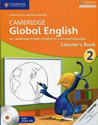 CAMBRIDGE GLOBAL ENGLISH 2 Learner´s book