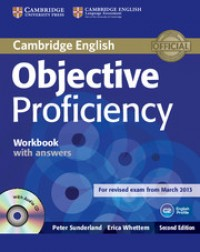 Objective Proficiency Workbook With Key